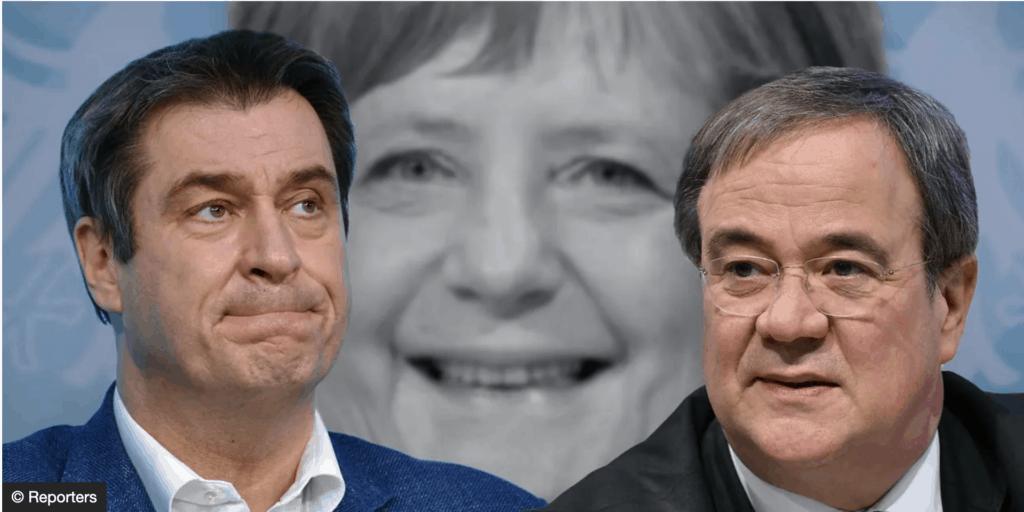 Qui pour succéder à Angela Merkel à la tête des conservateurs ? Le duel est déclaré entre Armin Laschet et Markus Söder